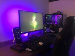 Full Gaming Setup With PC