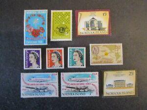 Norfolk Island Lot #1 Mint Hinged WDWPhilatelic (H4K3)