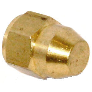Brass M10x1 Metric Female Brake Blanking cap