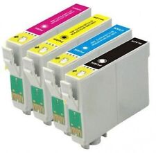 4 Printer Ink Cartridges Replace for T1281 T1282 T1283 T1284 T1285