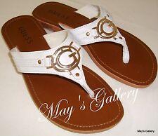 GUESS  Jeans  Thongs  Flip Flop  Sandals Shoes Flops Slipper Shoe NWT sz  8