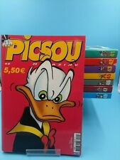 lot de 8 magazines picsou VF BE