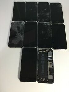 15x Apple iPhone 5S & SE - Space Grey. 10x 5S & 5x SE For parts. LOCKED
