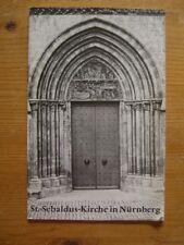 # ST SEBALDUS KIRCHE NÜRNBERG KIRCHENFÜHRER KURT PILZ 1974