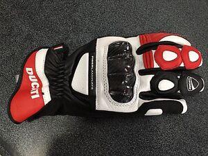 Guanti in pelle DUCATI C2 Rossi - Leather gloves Ducati sport C2
