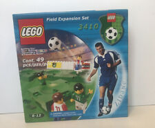 LEGO 3410 Sports Soccer/Football Field Expansion Set New Sealed 4 Minifigs