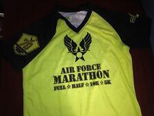 21st Annual Air Force Marathon shirt, preowned, womens small
