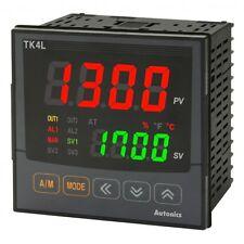 Autonics  TK4L-B4CN  Temp Control DIN W96XH96mm Alarm1+2+, CURREN O/P ,240VAC