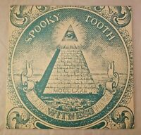 Spooky Tooth - Witness - Vinyl LP Record - RARE ILLUMINATI 1st PRESS COVER - EX