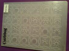 Cuttlebug Snow Dots Embossing Folder