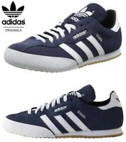 Adidas Mens Trainers Samba Shoes Super Suede Casual Trainer Sneakers
