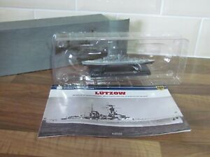 ATLAS EDTIONS -  LUTZOW - 1/1250 SCALE MODEL - BATTLE SHIP COLLECTION