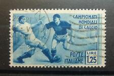 1934  Regno D'Italia  1,25 lire USATO  Campionati Mondiali di Calcio