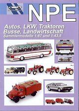 NPE Prospekt 2015 Autos, LKW, Busse, Traktoren, Feuerwehr; 1:87 und 1:43,5