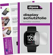 6x Fitbit Versa Film de protection D'écran Protecteur clair dipos