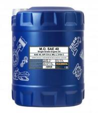 MANNOL 10L M.O. SAE 40 Single-Grade Engine Oil API CH-4  MIL L 2104 C CAT S 3