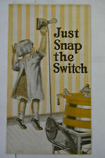 Laundry Queen Brochure, Grinnell Washing Machine Co., Iowa, Illus