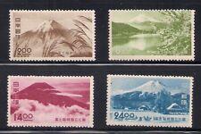 Japan 1949 Sc # 460-63 Park Vlh Og (42493)