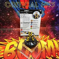 Marvel Heroclix CABLE 014 Deadpool and X-Force NM!