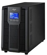 FSP Champ Tower 2k, Online-USV,2000 VA / 1800W, 200 bis 300VAC, mit USB, RS-232.