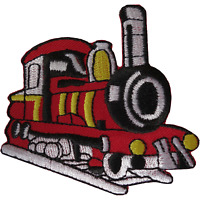 Train Iron On Patch Sew On Clothes T Shirt Embroidered Badge Embroidery Applique