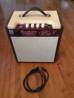 "Vintage RARE Danelectro Nifty Seventy 70 Guitar Amp Amplifier 8"" Speaker w/cord"