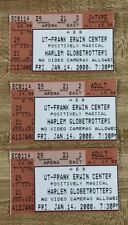 New Listing2000 Harlem Globetrotters Ticket Stubs Austin Texas Lot of 3