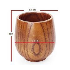 Coppa In Legno Alta Qualità Boccale Per Bevande Calde Fredde - 8*6.5*7.5cm