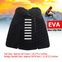 3Pcs Tail Pad Surfboard Traction Mat Deck Grip Stomp For SUP Paddleboard Surfing