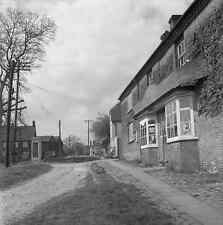 6x6 Negative Great Bedwyn Wiltshire Grocer Wine Merchants 1950 +Copyright  Y379
