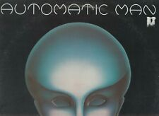 AUTOMATIC MAN - First (1976) w/ Poster [Vinyl NM-][Sleeve VG/VG+] British Import