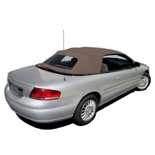 New Chrysler Sebring Convertible Soft Top & Plastic window Sandalwood Sailcloth