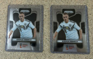 Panini Prizm World Cup 2018 Joshua Kimmich #90 Germany 2x Lot Card