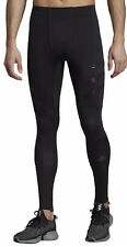 adidas Men's Adizero Speed Long Running Tights Reflective Black S Small DZ4856