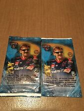 Press Pass VIP 98 NASCAR Trading Cards 2 new packs 4 cards per pack 50th Anniv.