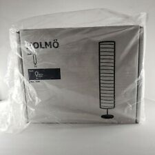 NO BULB Ikea Holmo Floor Lamp 46-inch White Rice Paper Shade LED Compatible