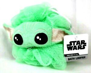 NEW Star Wars Bath Loofah Mandalorian Baby Yoda The Child Disney Tub Toy