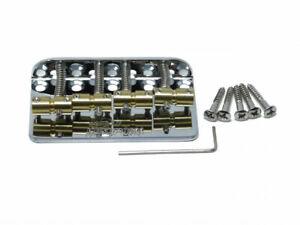 Wilkinson 4-Saiter Bass Brücke (WBBC) Set für Jazz, Precision replacement Bridge