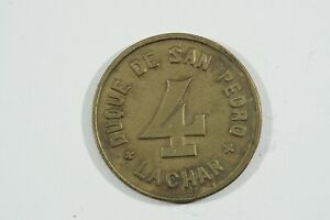 Moneda Local Duque de San Pedro Lachar (Granada) 4 Pesetas
