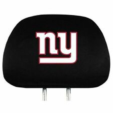 NEW YORK GIANTS TWO PACK HEAD REST COVERS NEW & OFFICIALLY LICENSED
