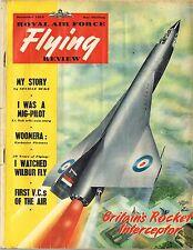 RAF FLYING REVIEW DEC 53 DOWNLOAD: WELLINGTON STORY/COLOUR PINUP/RAF VCs