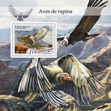 Mozambique 2016 Mnh Birds of Prey 1v S/S Hawks Vultures Raptors Stamps