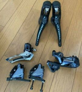 [Excellent] Shimano Ultegra Groupset ST-R8020 BR-8070 FD-R8000 Hydraulic Disc