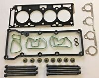 HEAD GASKET SET & BOLTS FORD STREETKA SPORTKA 1.6 2003 on CRDA CRDB DURATEC