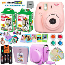 FujiFilm Instax Mini 8 Camera PINK + Accessories KIT for Fujifilm Instax Mini 8