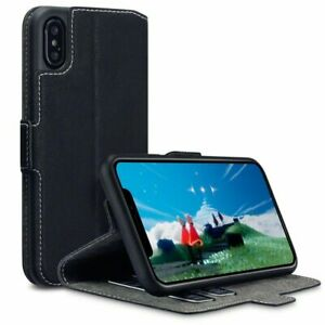 iPhone X Case Terrapin iPhone Leather Case Wallet Flip Cover Ultra Slim Fit