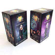 BUFFY the Vampire Slayer VHS COLLECTORS EDITION Box Set Season 3 Part 1 and 2