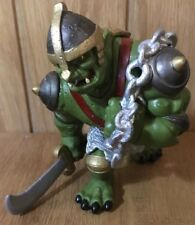 ELC Tower Of Doom, Green Troll Figurine, Good Condition