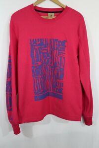 NIKE ACG Men's Waffle LS Shirt BQ3450-666 Rush Pink/Blue Sz M