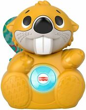 Fisher-Price Linkimals Boppin' Beaver, Light-up Musical Activity Toy 4 Baby NEW